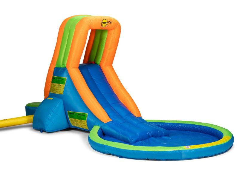 Rutschkana Happy Hop Uppblåsbar med pool