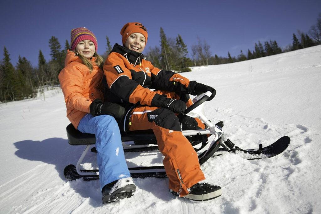 STIGA Snowracer King Size GT Vit