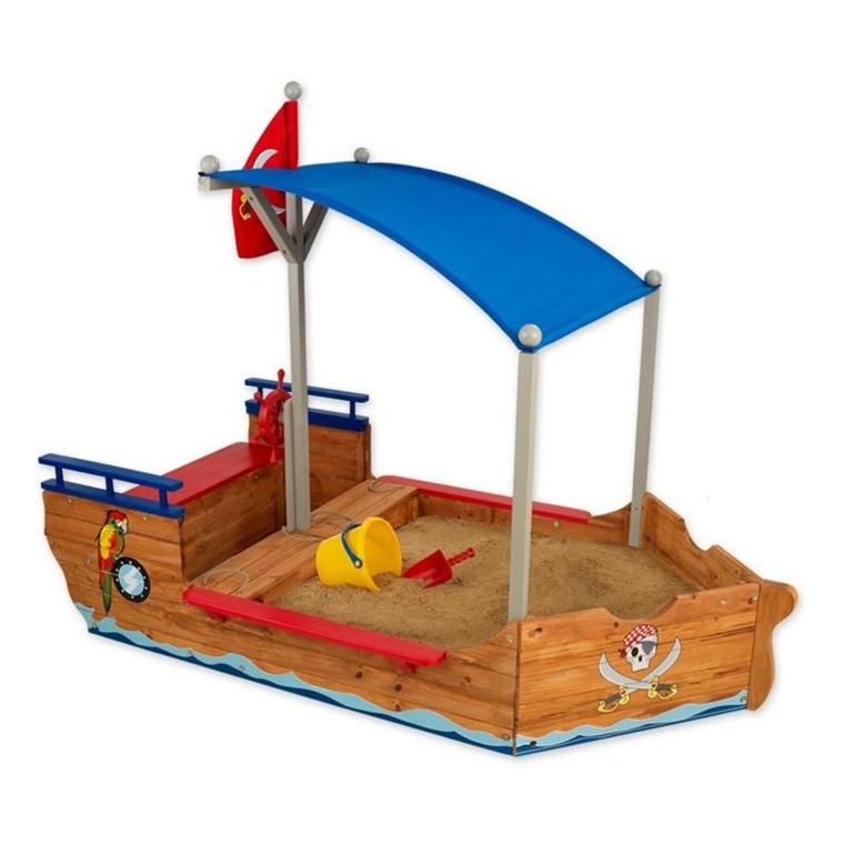 Sandlåda Piratbåt Kidkraft