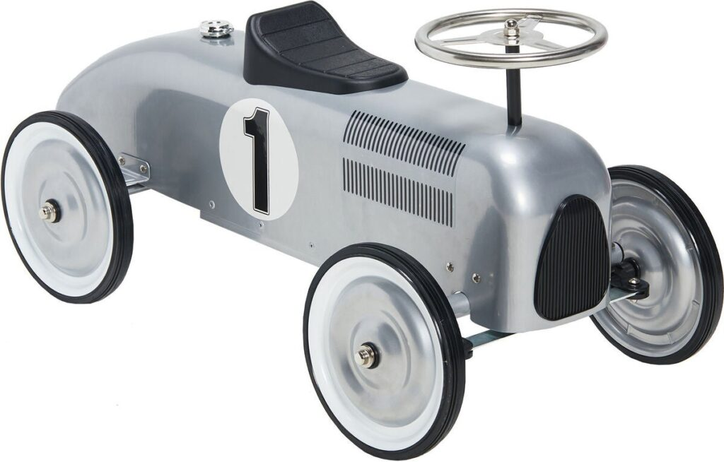 Sparkbil Mini Speeders Lil Racer, Silver